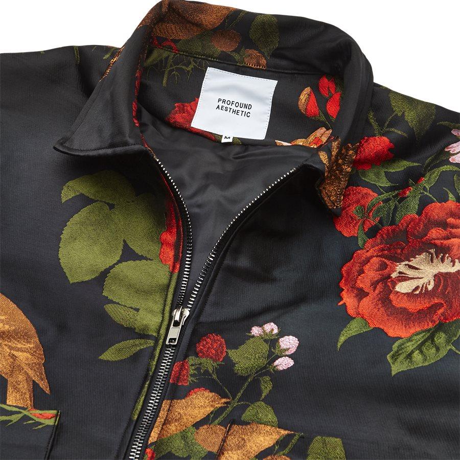 JKT-014 FLORAL - Floral - Jakker - Regular - SORT - 3