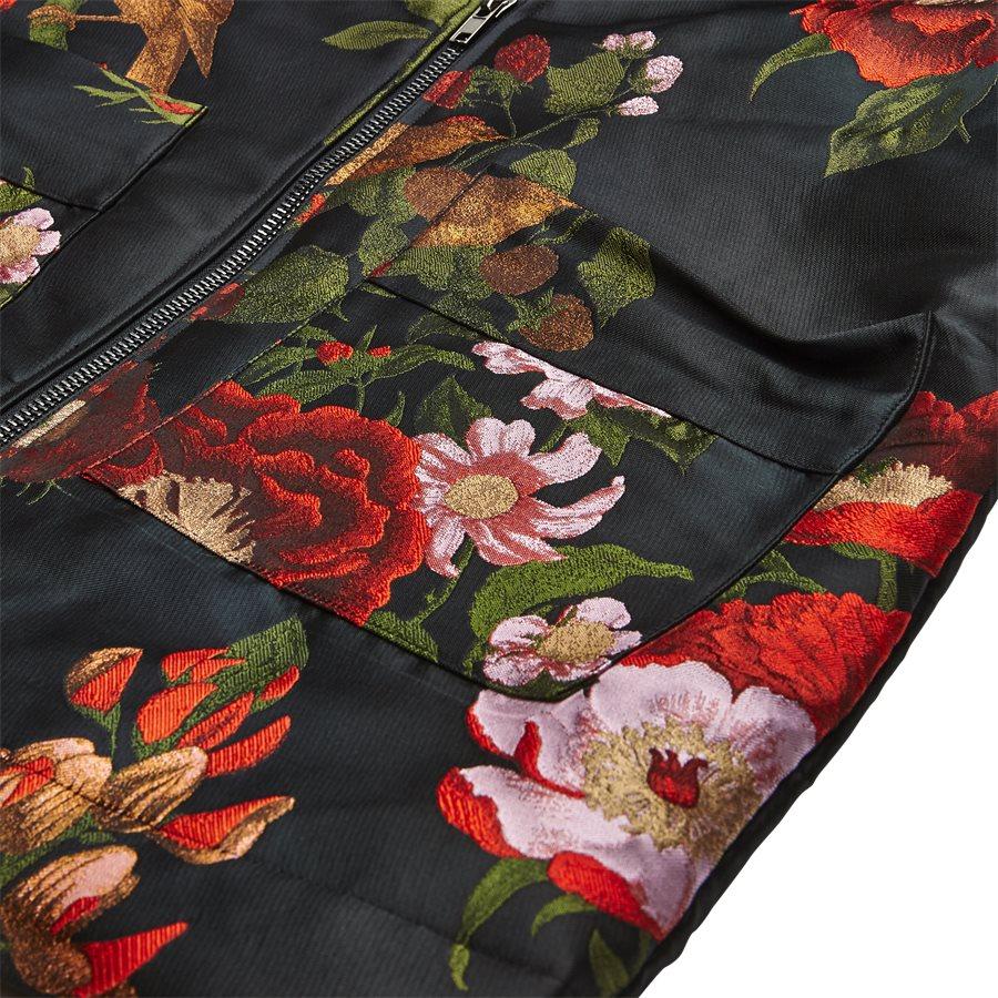 JKT-014 FLORAL - Floral - Jakker - Regular - SORT - 5