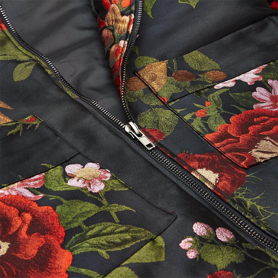 JKT-014 FLORAL - Floral - Jakker - Regular - SORT - 6