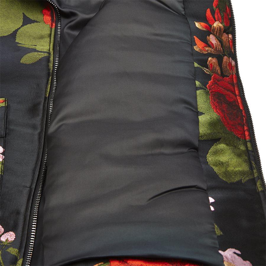 JKT-014 FLORAL - Floral - Jakker - Regular - SORT - 7
