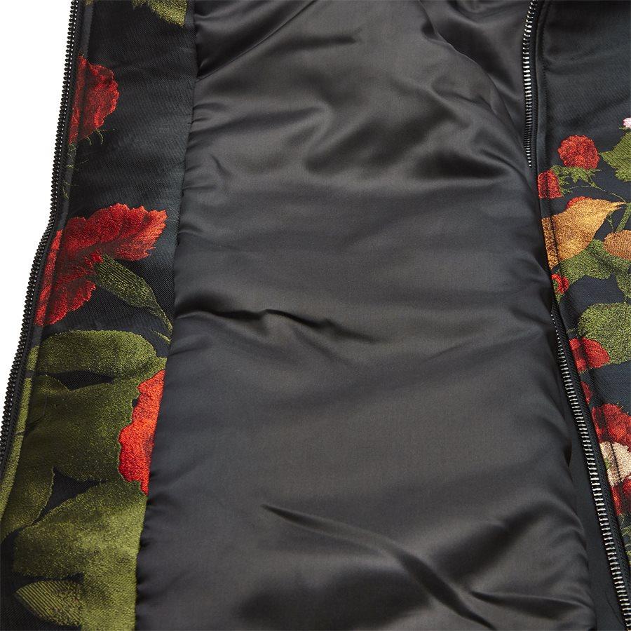 JKT-014 FLORAL - Floral - Jakker - Regular - SORT - 8