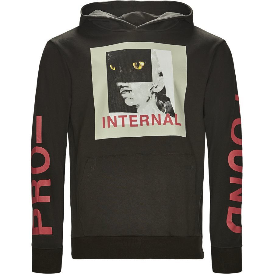 TOP-289 INTERNAL - Internal Sweatshirt - Sweatshirts - Regular - SORT - 1
