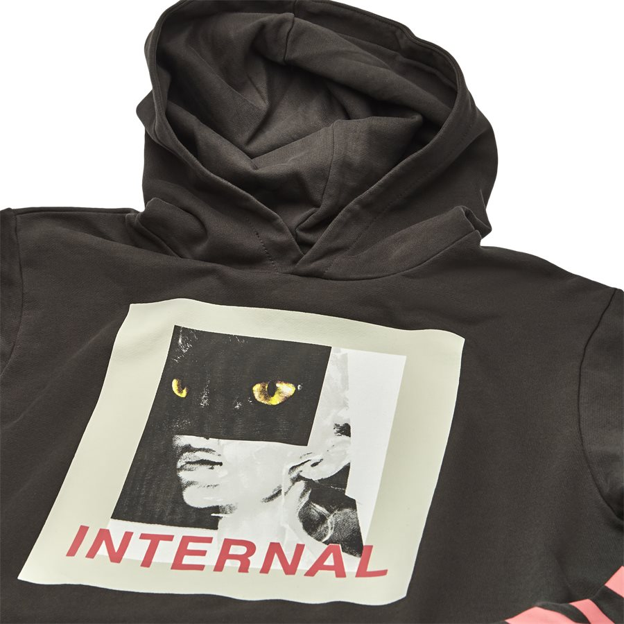 TOP-289 INTERNAL - Internal Sweatshirt - Sweatshirts - Regular - SORT - 3