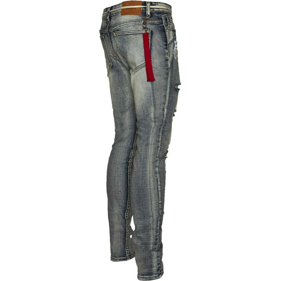 BTM-013 DESTROYED - BTM-013 DESTROYED - Jeans - Slim - DENIM - 3