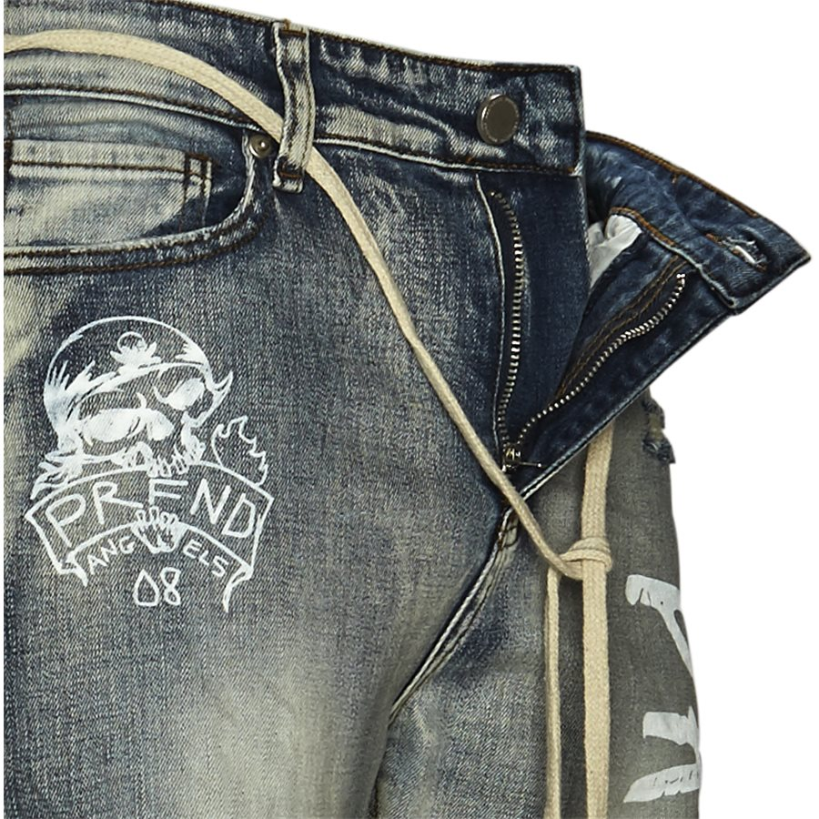 BTM-013 DESTROYED - BTM-013 DESTROYED - Jeans - Slim - DENIM - 4