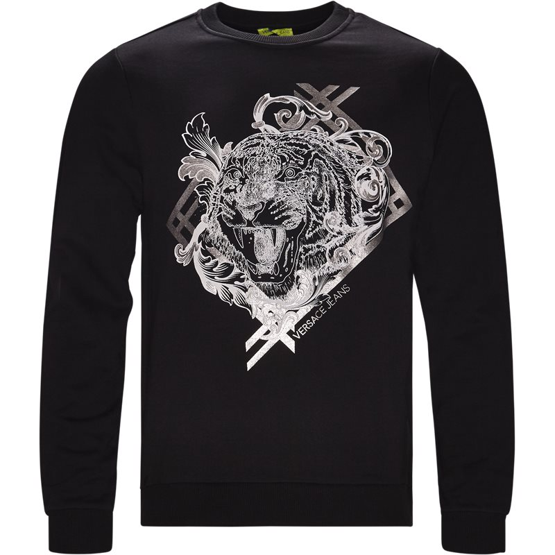 Versace jeans b7gsb7fd 36612 sort fra versace jeans fra Edgy
