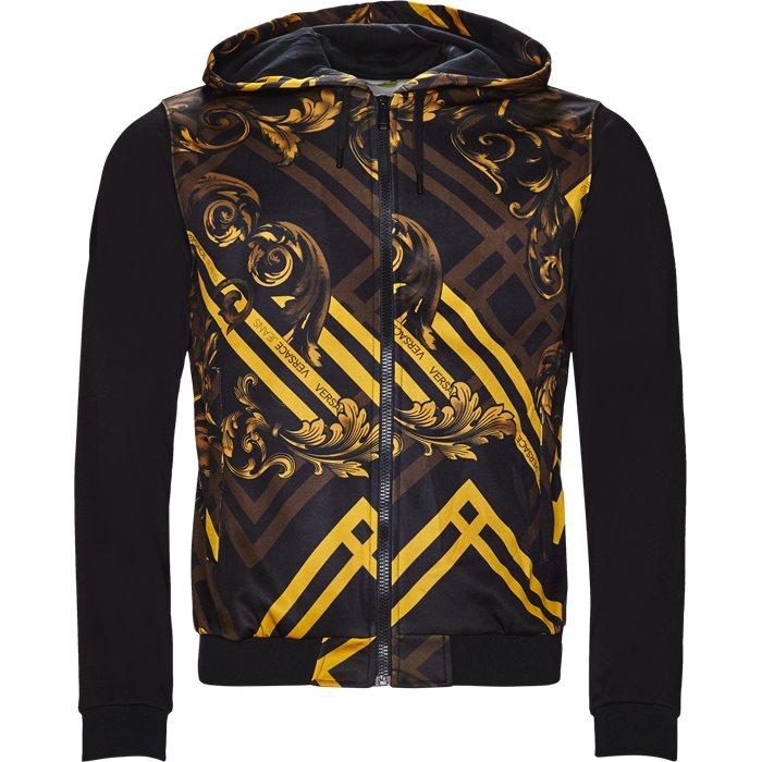 B7GSB7F2 - Sweatshirts - Slim - Sort