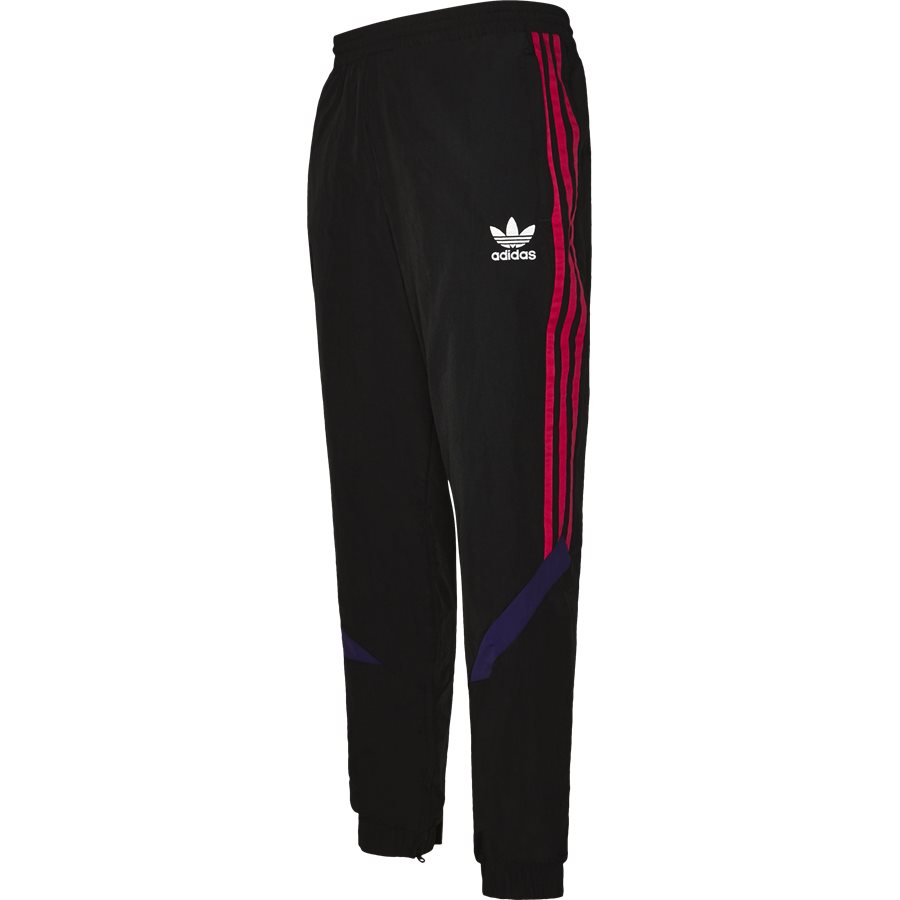 SPORTIVE TRACKPANT EJ0951 - Sportive Track Pant - Bukser - Tapered fit - SORT - 4
