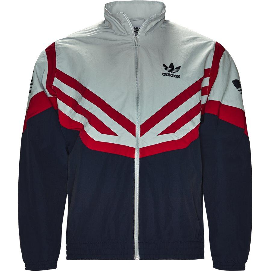 b6eb17c1 SPORTIVE TRACKTOP EJ0947 - Sportive Track Top - Sweatshirts - Loose - NAVY  - 1. Adidas Originals
