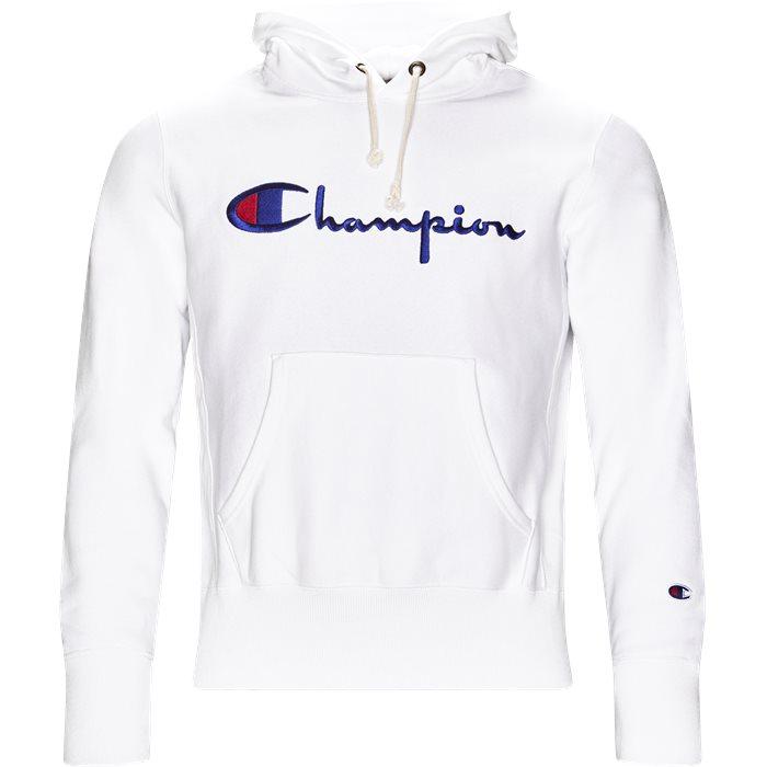 212574 - Sweatshirts - Regular - Hvid