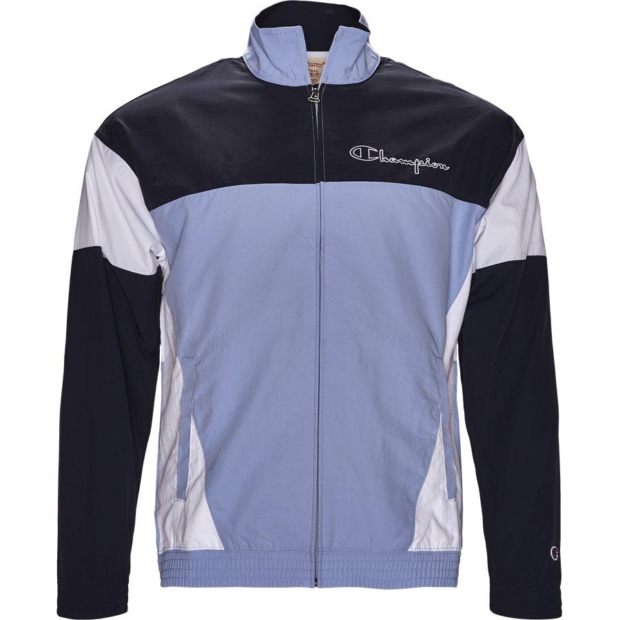 212386 - 212386 Track Top - Sweatshirts - Regular - BLÅ - 1