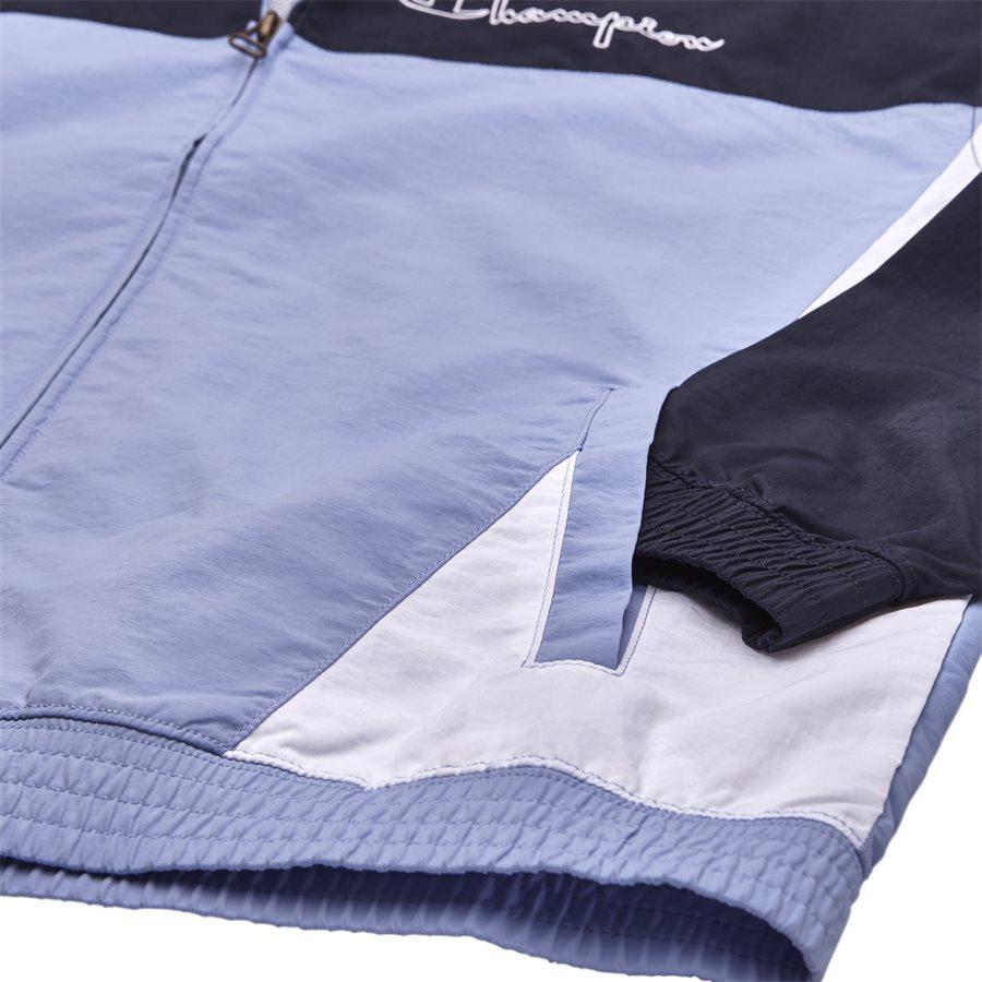212386 - 212386 Track Top - Sweatshirts - Regular - BLÅ - 4