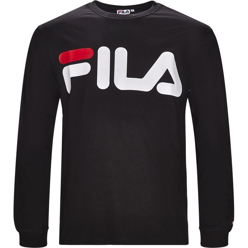 fila Fila classic logo ls sort på quint.dk