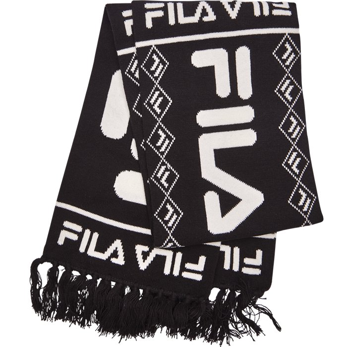 F-Box Scarf - Tørklæder - Sort