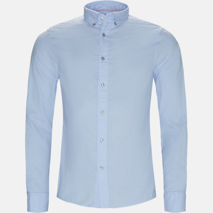 Shirts - Fitted body - Blue