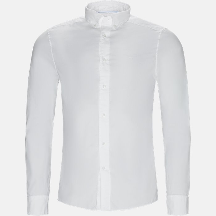 Shirts - Fitted body - White