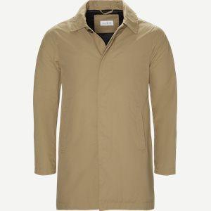 Robinson Cotton Coat Regular | Robinson Cotton Coat | Sand
