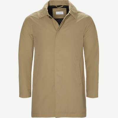 Robinson Cotton Coat Regular | Robinson Cotton Coat | Sand