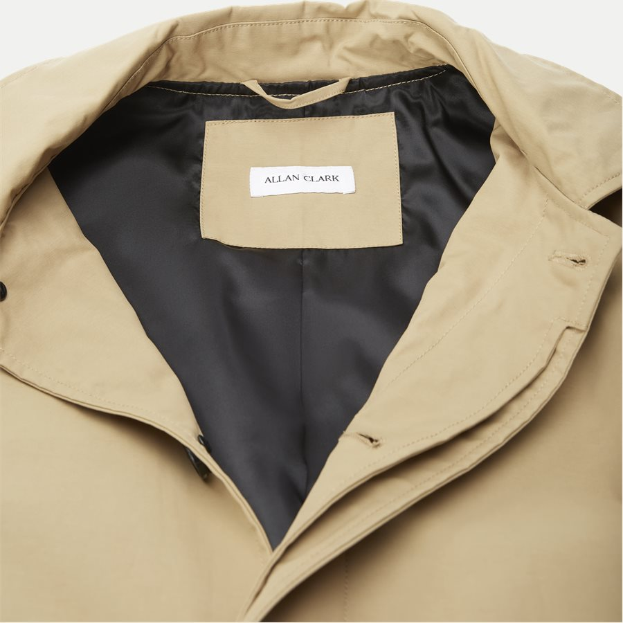 ROBINSON - Robinson Cotton Coat - Jakker - Regular - SAND - 3