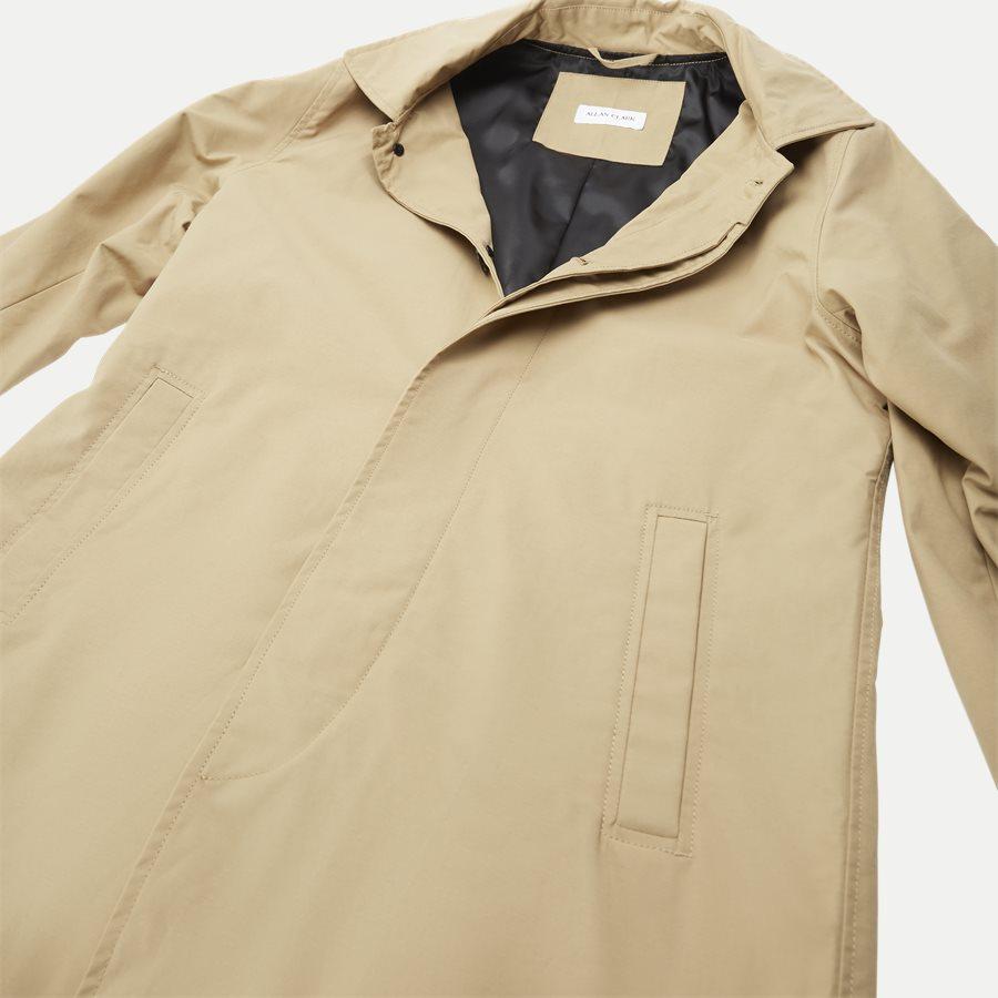 ROBINSON - Robinson Cotton Coat - Jakker - Regular - SAND - 4