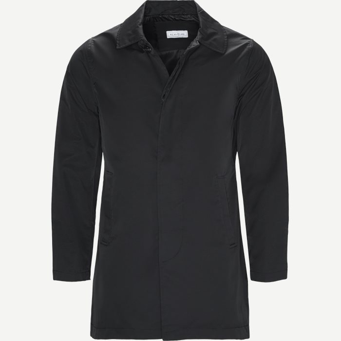 Robinson Cotton Coat - Jakker - Regular - Sort
