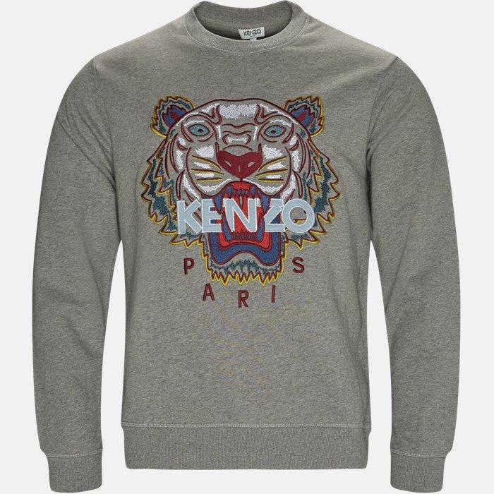 sweat - Sweatshirts - Regular slim fit - Grå