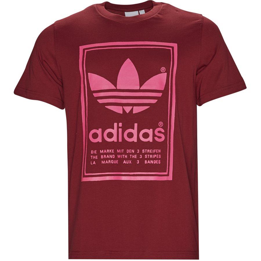 VINTAGE TEE DJ2717 - Vintage Tee - T-shirts - Regular - BORDEAUX - 1