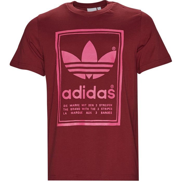 Vintage Tee - T-shirts - Regular - Bordeaux