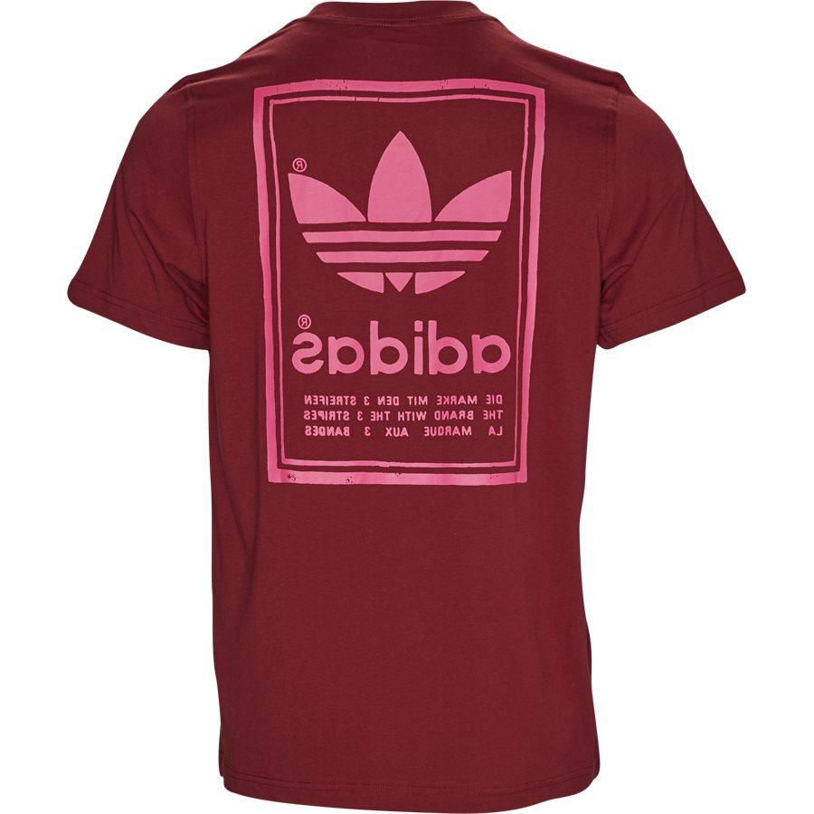 VINTAGE TEE DJ2717 - Vintage Tee - T-shirts - Regular - BORDEAUX - 2