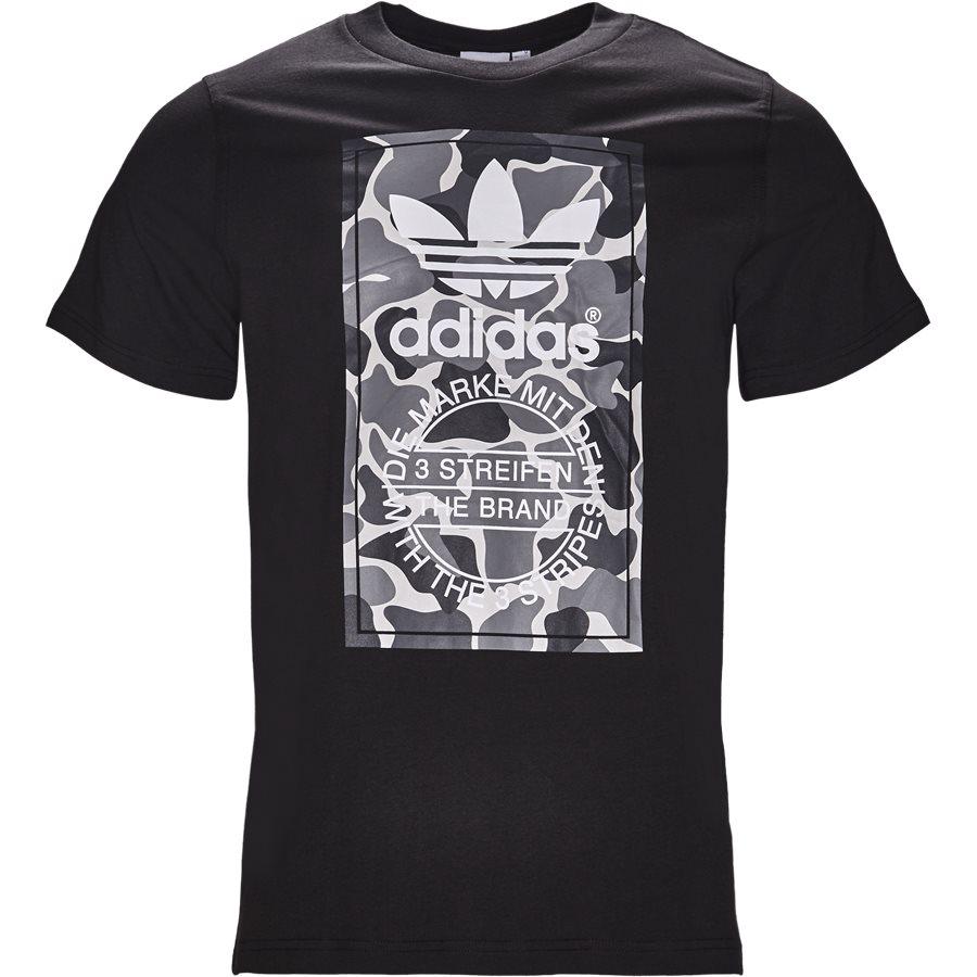 CAMO LABEL DH4769 - Camo Label - T-shirts - Regular - SORT - 1