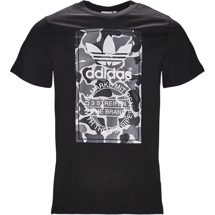 Camo Label - T-shirts - Regular - Sort