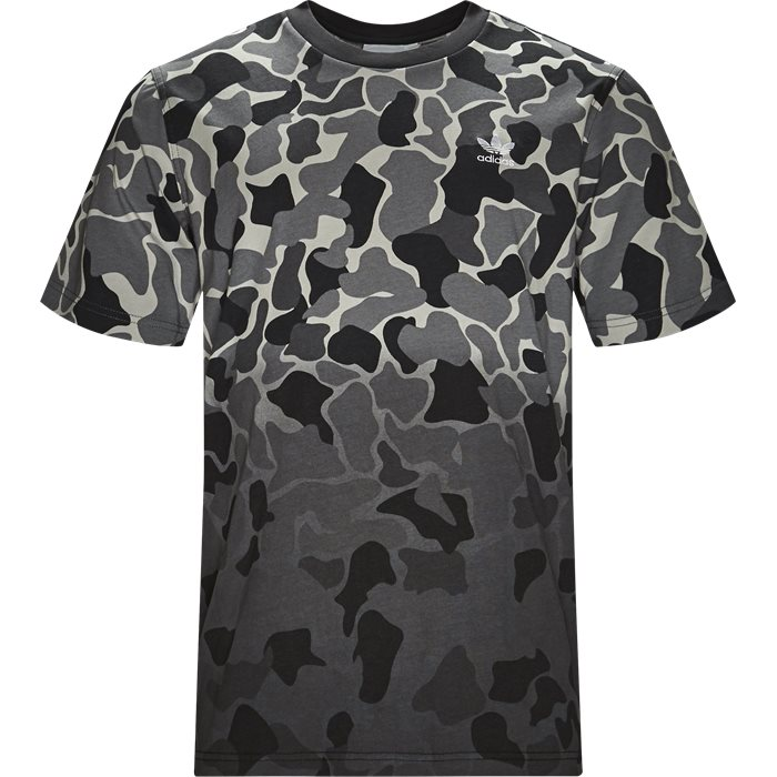 Camo Dipped - T-shirts - Regular - Grå