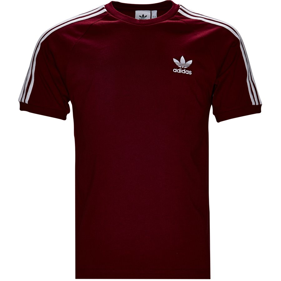 3-STRIPES DH5810 - 3-Stripes - T-shirts - Regular - BORDEAUX - 1