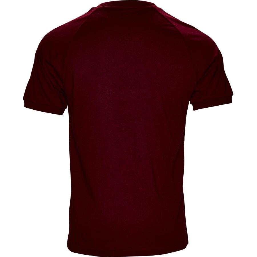 3-STRIPES DH5810 - 3-Stripes - T-shirts - Regular - BORDEAUX - 2