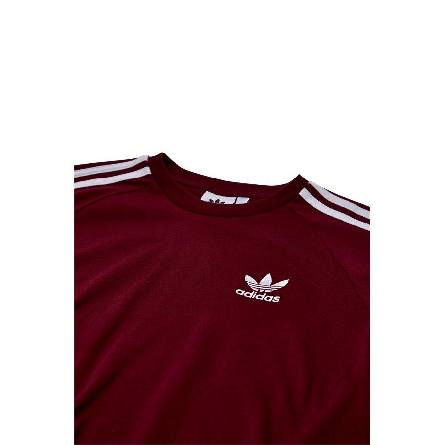 3-STRIPES DH5810 - 3-Stripes - T-shirts - Regular - BORDEAUX - 3