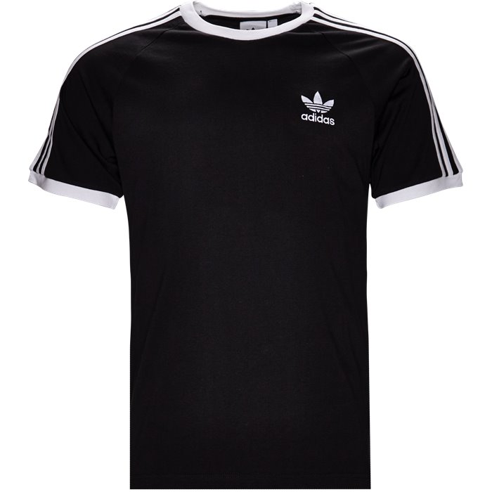 3-Stripes - T-shirts - Regular - Sort