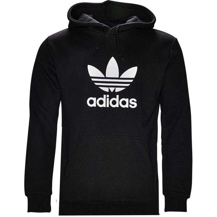 Trefoil Hood - Sweatshirts - Regular - Sort