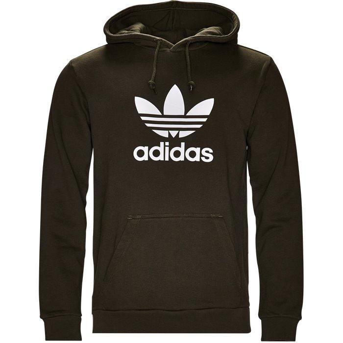 Trefoil Hood - Sweatshirts - Regular - Grøn