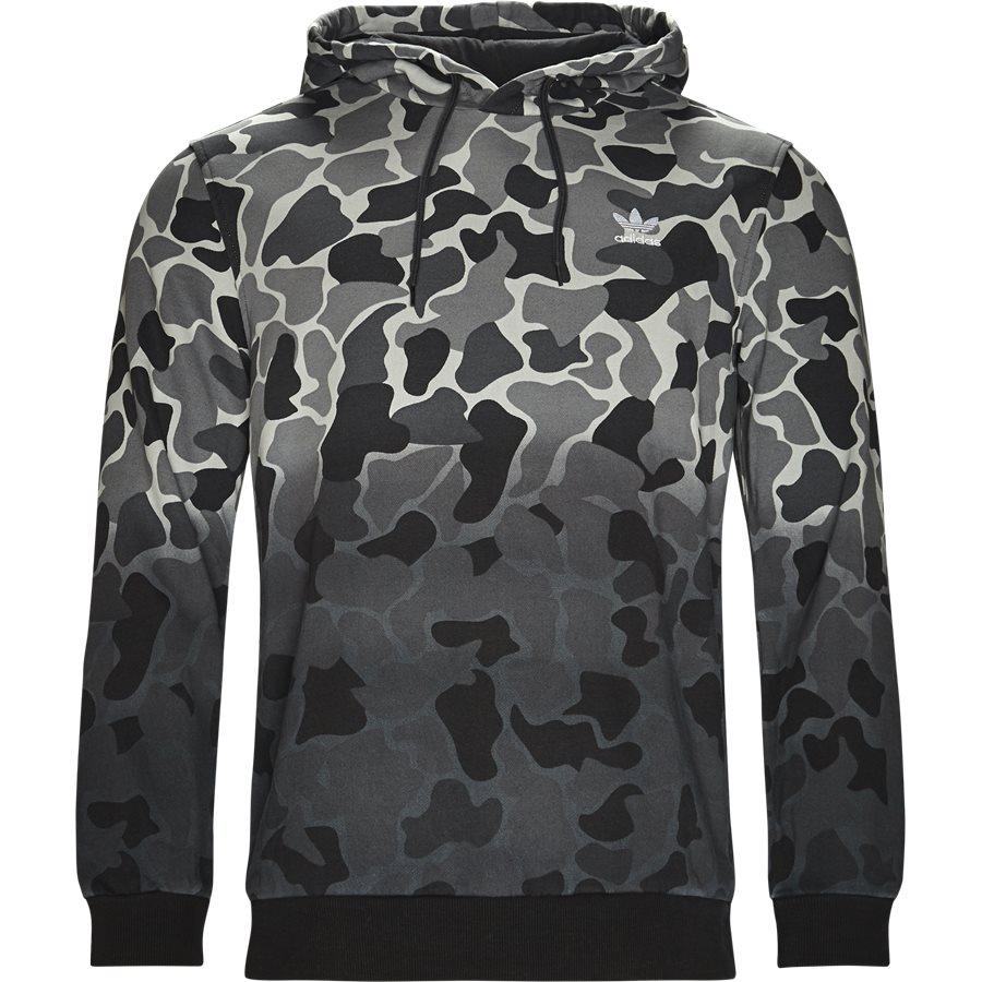 CAMO DH4807 - Camo Hood - Sweatshirts - Regular - GRÅ - 1