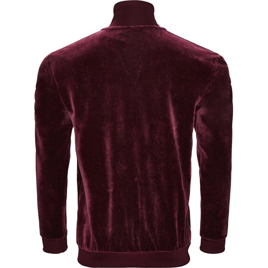 VELOUR DH5789 - Velour Track Top - Sweatshirts - Regular - BORDEAUX - 2