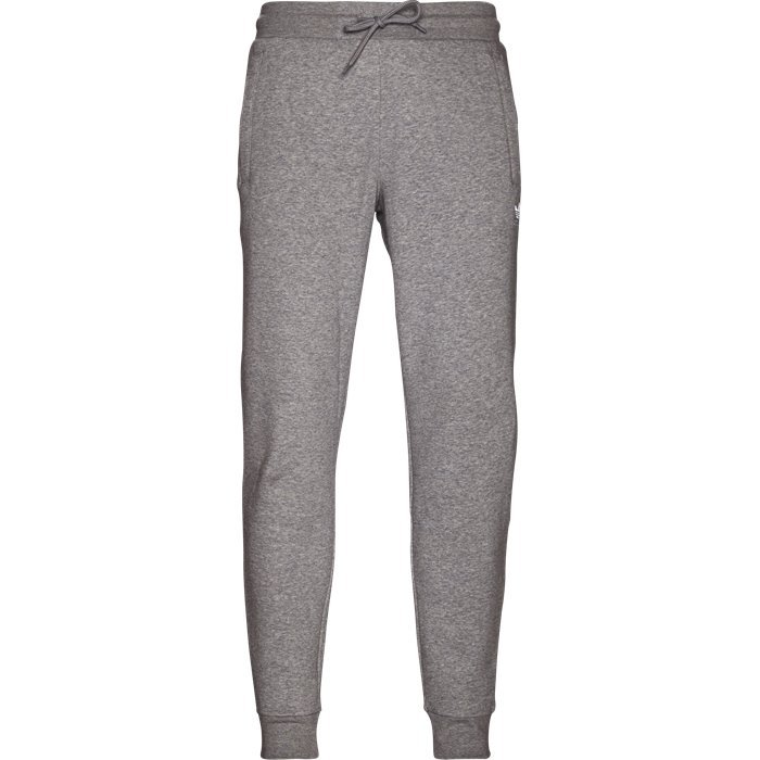 Slim Flc Sweatpant - Bukser - Regular - Grå