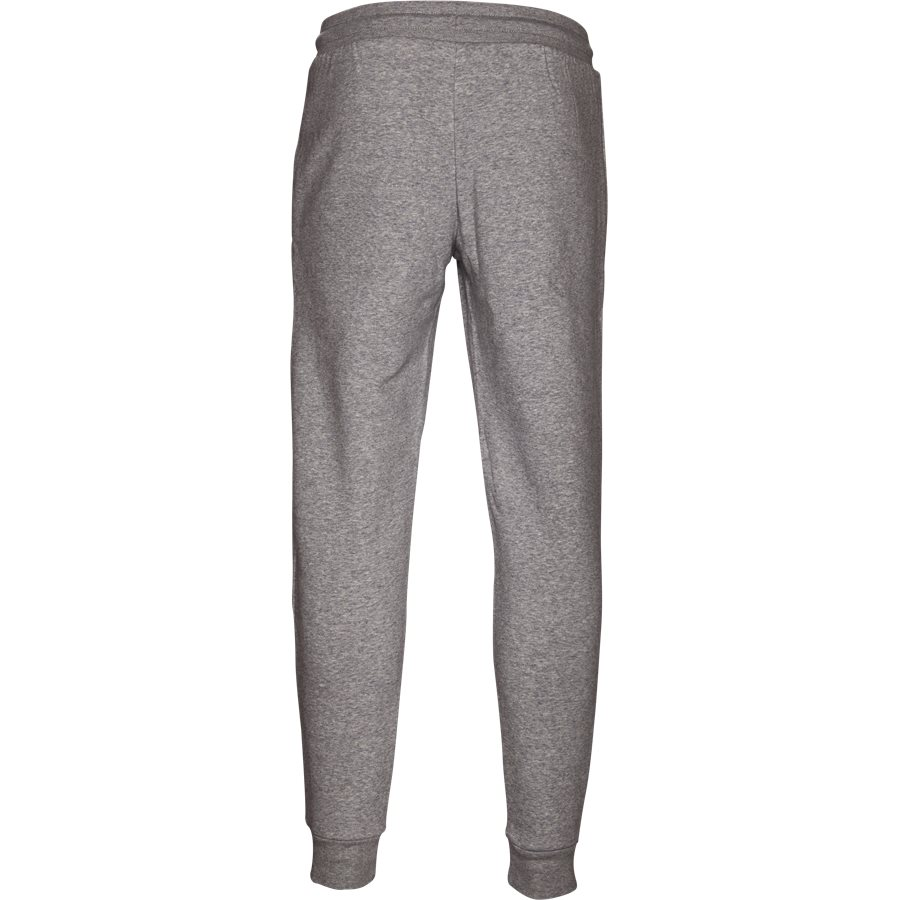 SLIM FLC DN6010 - Slim Flc Sweatpant - Bukser - Regular - GRÅ - 2