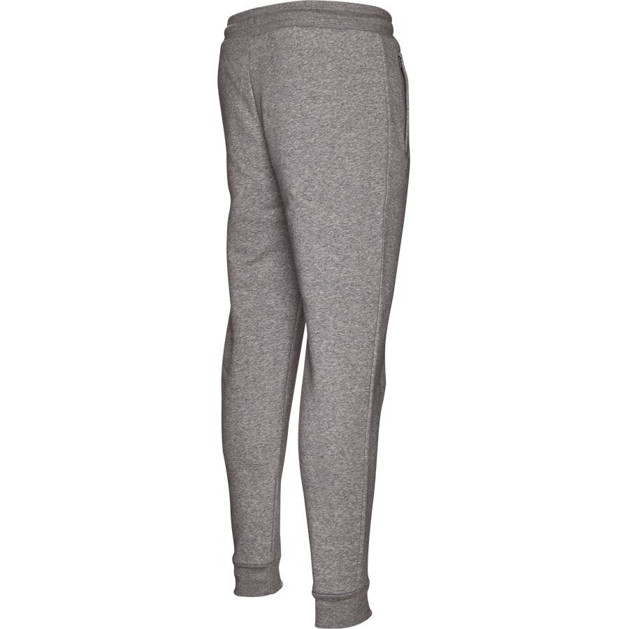 SLIM FLC DN6010 - Slim Flc Sweatpant - Bukser - Regular - GRÅ - 3