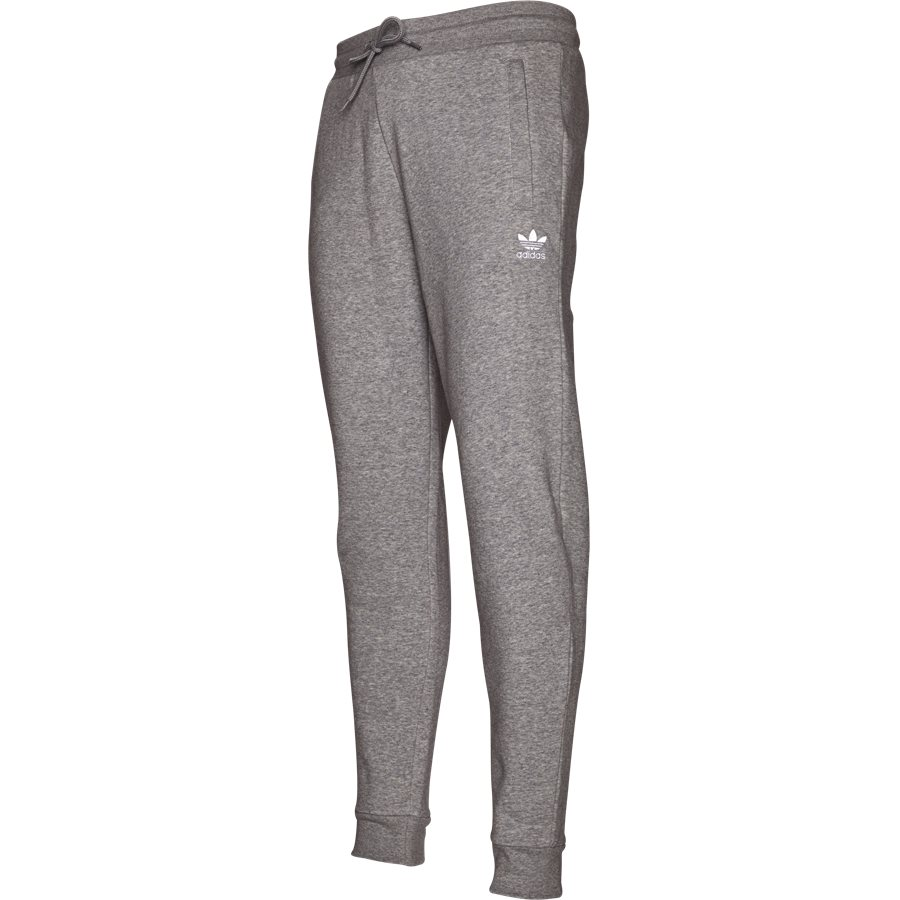 SLIM FLC DN6010 - Slim Flc Sweatpant - Bukser - Regular - GRÅ - 4