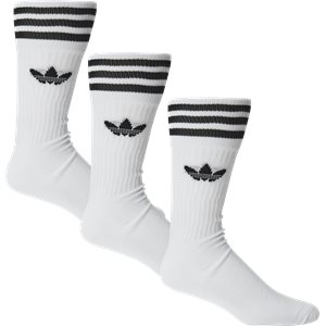 Solid Crew Sock Regular | Solid Crew Sock | Hvid