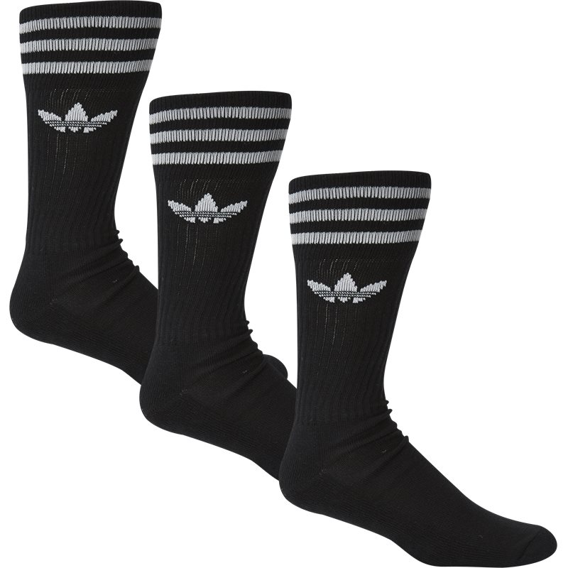 Image of   Adidas Originals Solid Crew Sock Sort