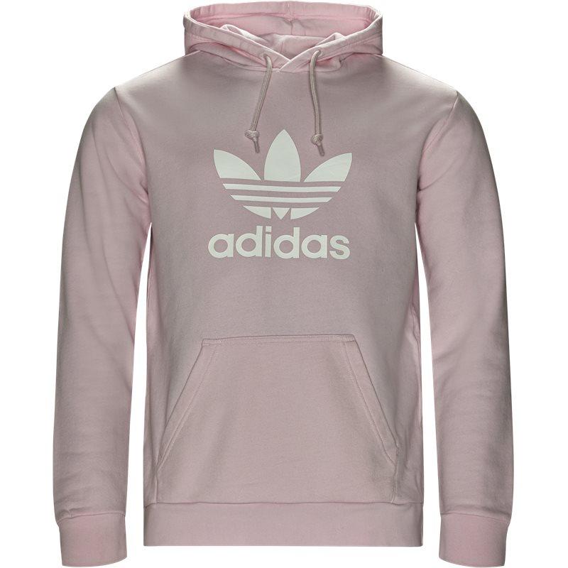 adidas originals Adidas originals trefoil hoodie lyserød på quint.dk