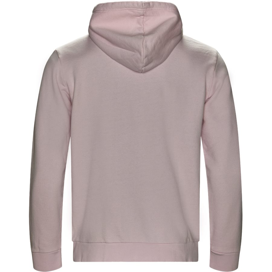 TREFOIL HOODY DT7966 - Trefoil Hoodie - Sweatshirts - Regular - LYSERØD - 2