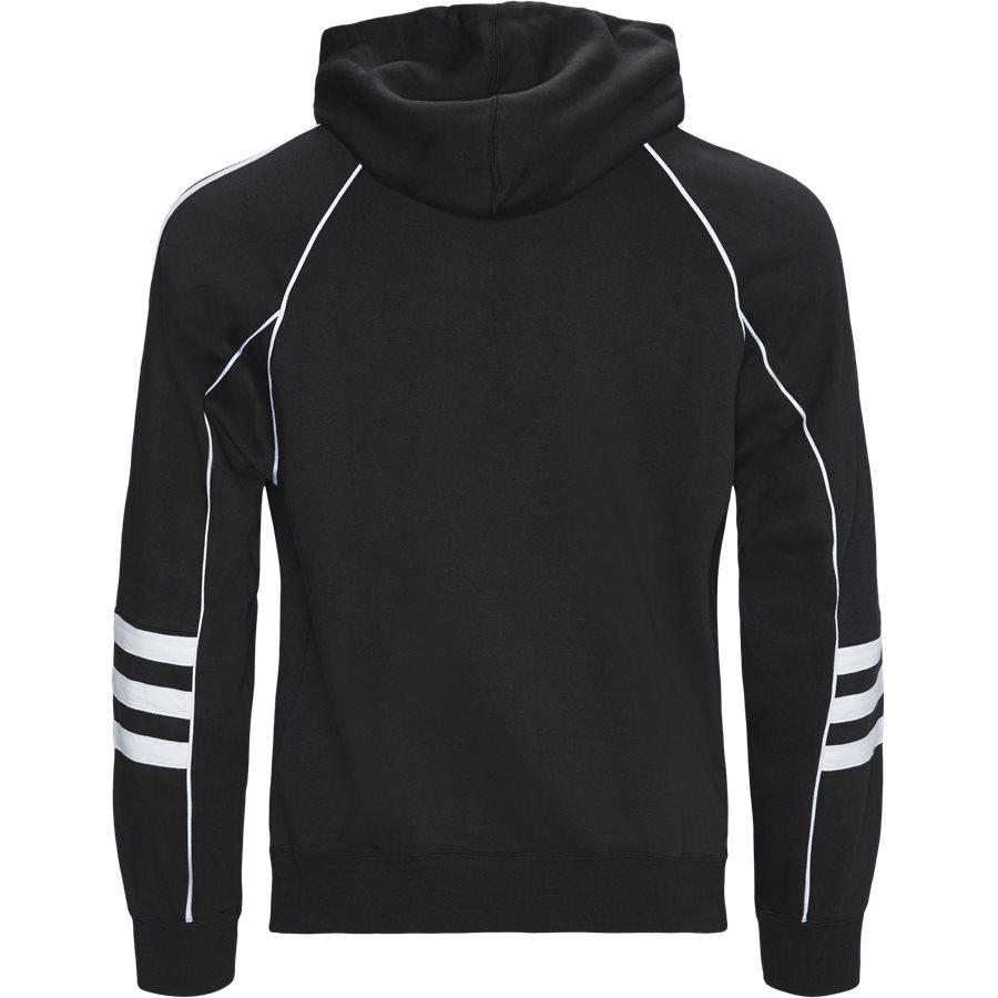 AUTH HOODY DH3851 - Auth Hoody - Sweatshirts - Regular - SORT - 2