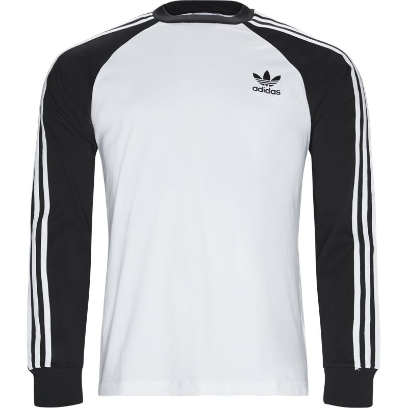 Image of   Adidas Originals 3 Stripes Ls Dh5793 T-shirts Hvid